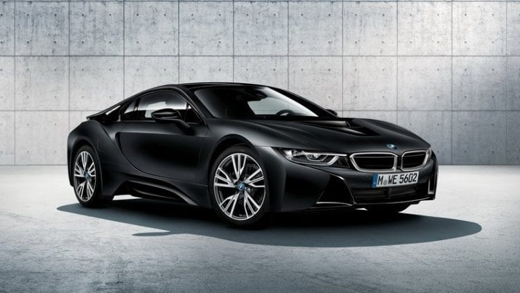 2017 BMW I8 Protonic Frozen Black Edition
