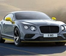 2017 Bentley Continental GT Black Speed