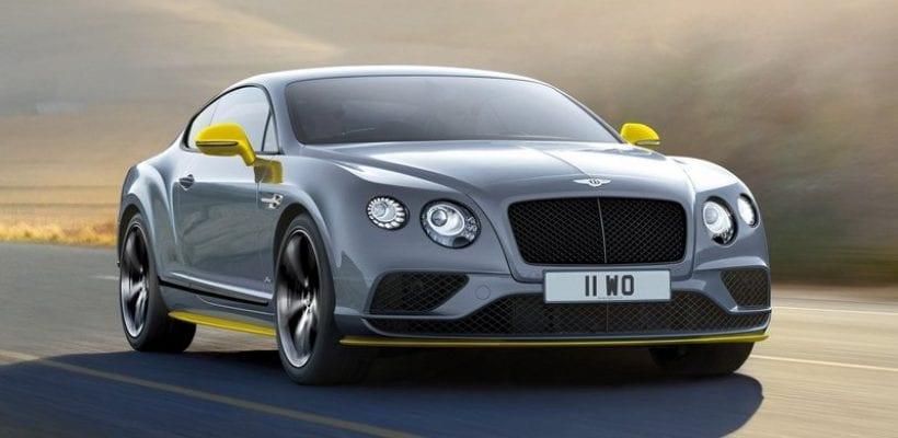 2017 Bentley Continental GT Black Speed