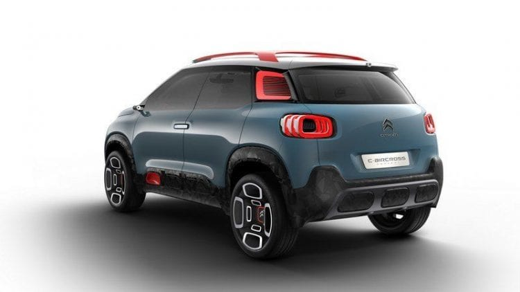 2017 citroen c aircross concept c3 picasso future. Black Bedroom Furniture Sets. Home Design Ideas