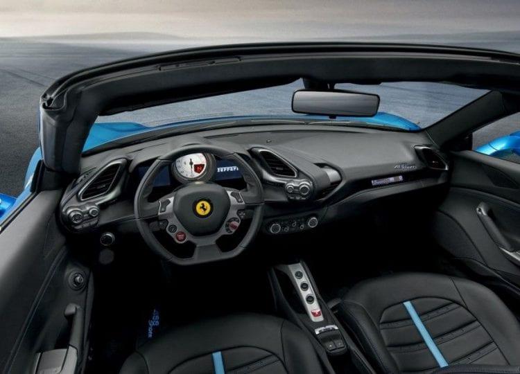 2017 Ferrari 488 GTB interior