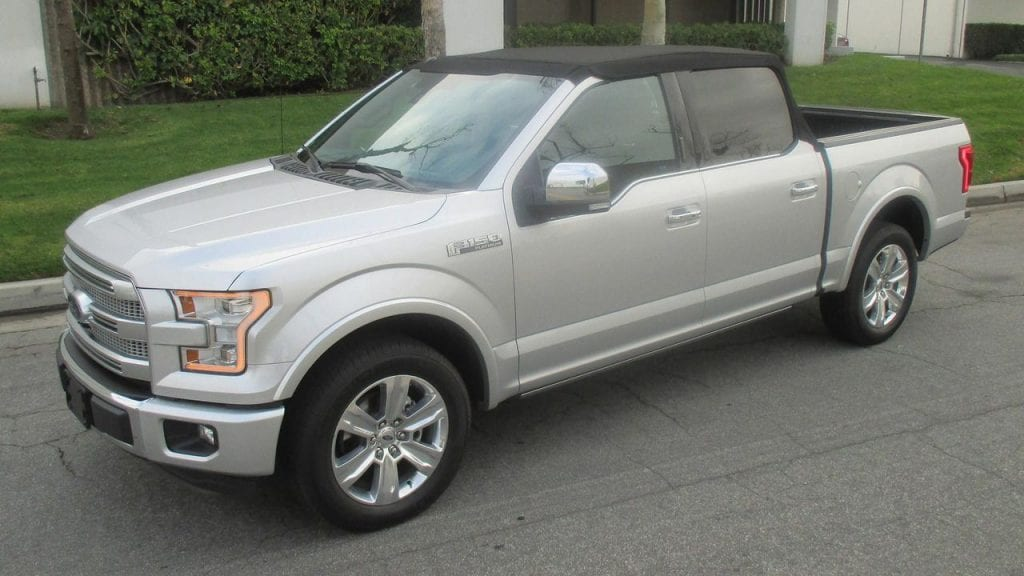 2017 ford f 150 convertible news and features specs. Black Bedroom Furniture Sets. Home Design Ideas