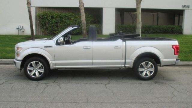 Ford Lightning Specs >> 2017 Ford F-150 Convertible - News and Features | Specs, New Details