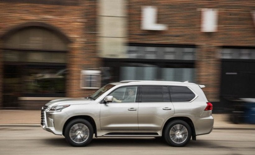 2017 lexus lx 570 specs price release date performance suv. Black Bedroom Furniture Sets. Home Design Ideas