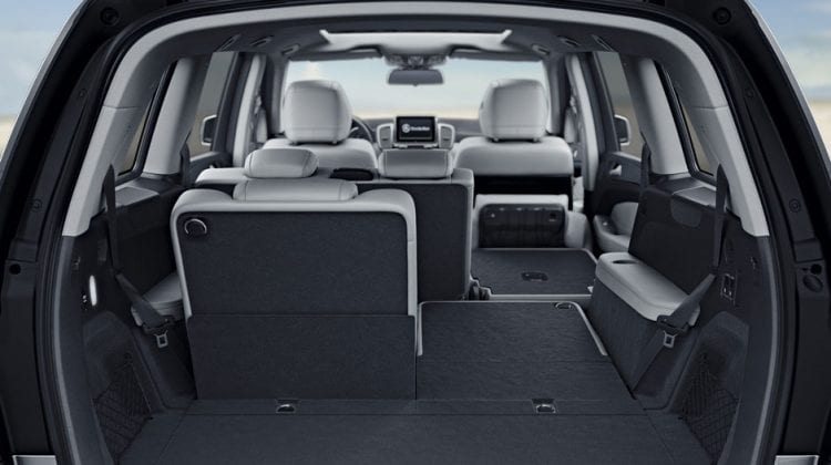 2017 Mercedes-Benz GLS450 interior