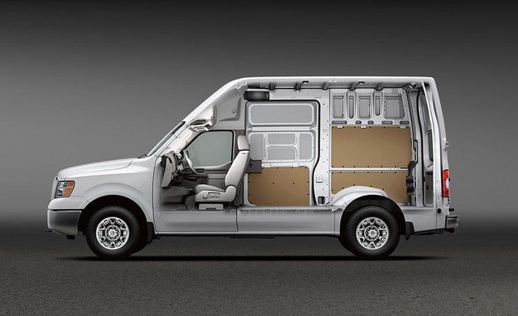 2017 Nissan NV Cargo X Concept