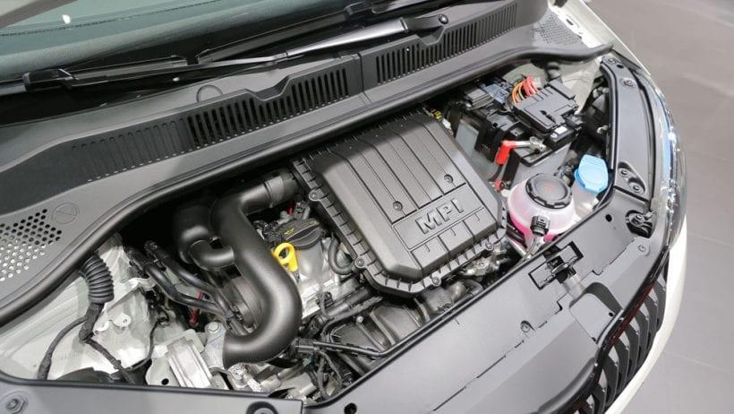 2017 Skoda Citigo engine
