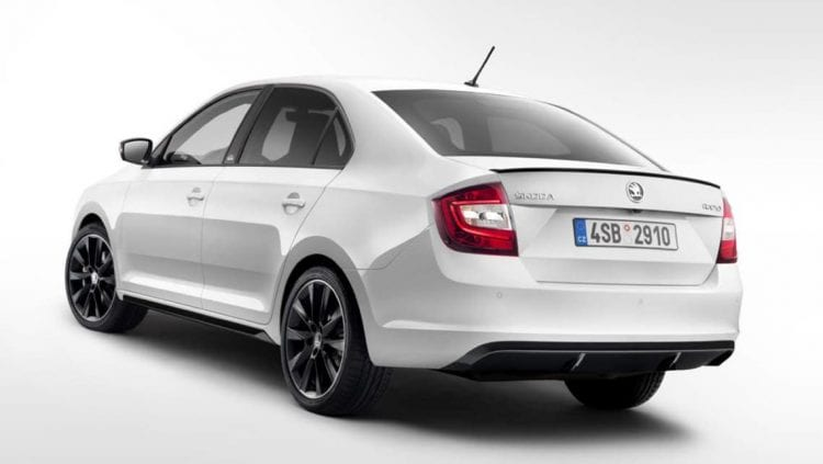 2017 Skoda Rapid rear view