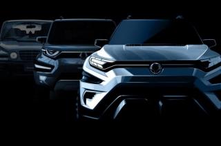 2017 SsangYong XAVL concept