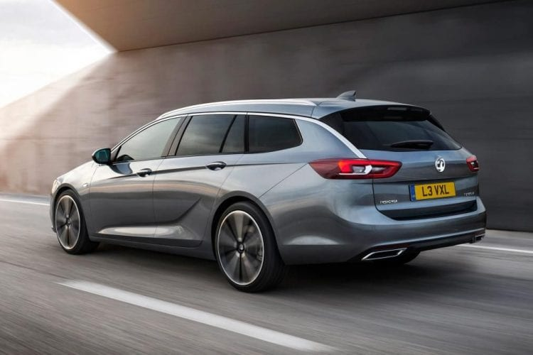 2017 Vauxhall Insignia Sports Tourer back view