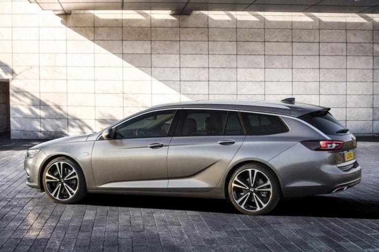 2017 Vauxhall Insignia Sports Tourer right side