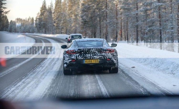 2018 Aston Martin Vantage rear view