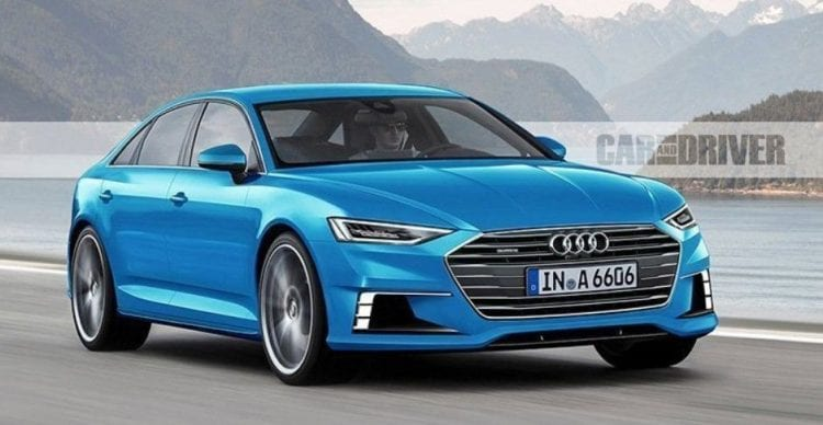 2018 Audi A6 front view