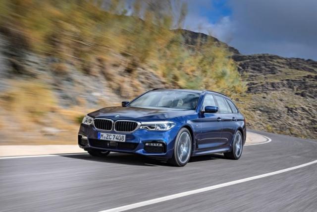 2018 BMW 5 Series Touring
