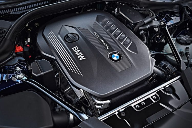 2018 BMW 5 Series Touring engine
