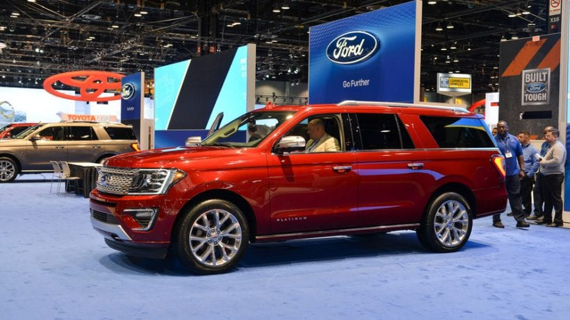 2018 ford expedition spy shots and latest ford rumors. Black Bedroom Furniture Sets. Home Design Ideas