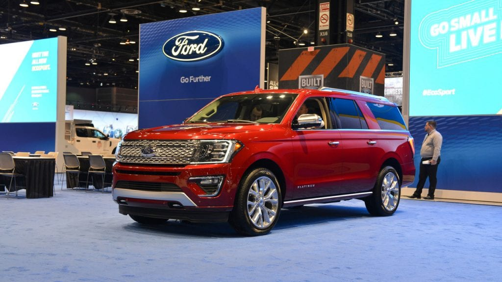 Newly Designed  Ford Expedition