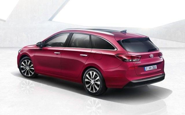 2018 Hyundai i30 Tourer rear view