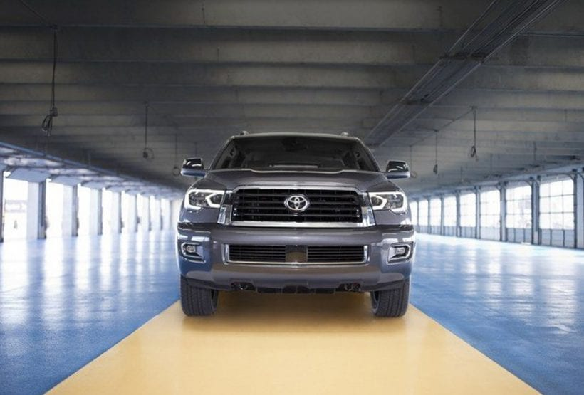 2018 Toyota Tundra TRD Sport Package – Scoop, mesh, LED