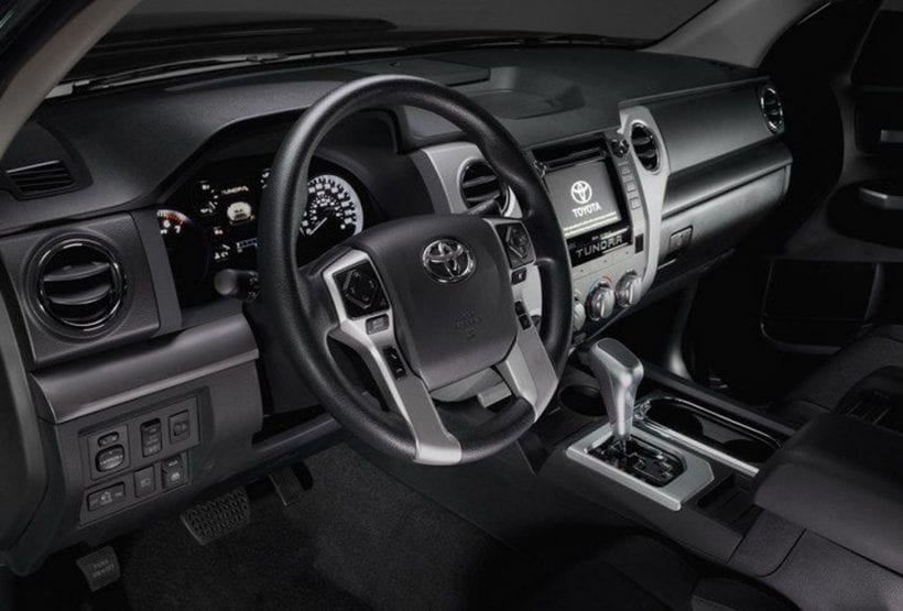 2018 Toyota Tundra TRD Sport Package Performance