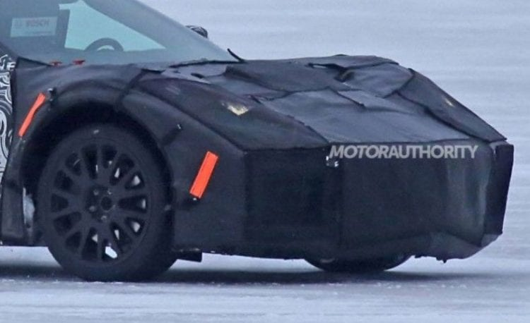 2019 Chevrolet Corvette C8 front view
