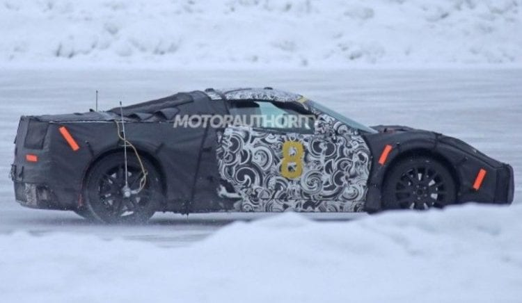 2019 Chevrolet Corvette C8 spy shots