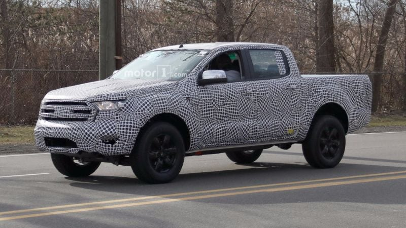 2018 Ford Ranger To Be Released In Late 2018 Early 2019