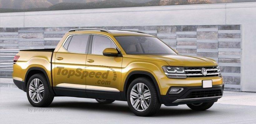 2019 Volkswagen Atlas Pickup review