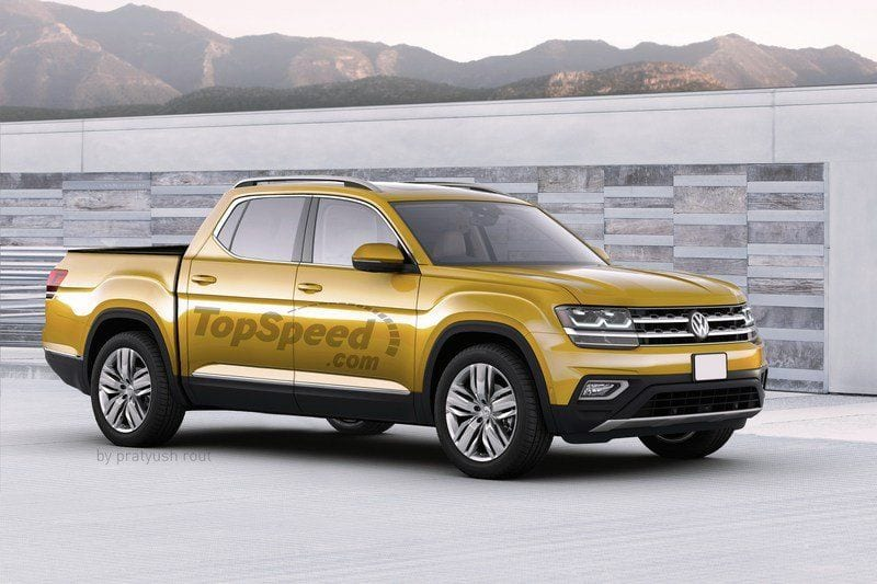 2019 volkswagen atlas pickup price performance review release date. Black Bedroom Furniture Sets. Home Design Ideas