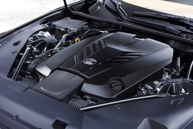 Lexus LC F engine