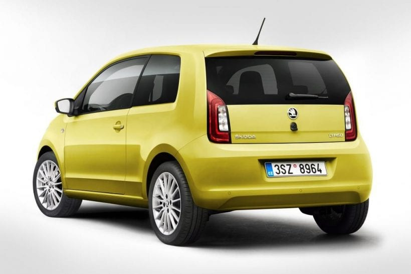 2017 skoda citigo refreshed edition at 2017 geneva motor show news. Black Bedroom Furniture Sets. Home Design Ideas
