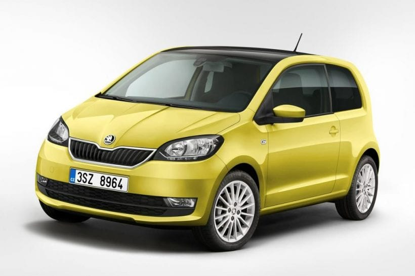 2017 skoda citigo refreshed edition at 2017 geneva motor. Black Bedroom Furniture Sets. Home Design Ideas