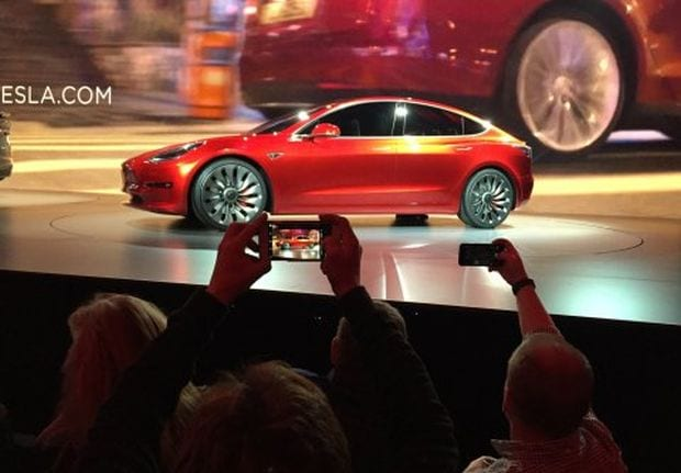 Tesla Model 3 rumors