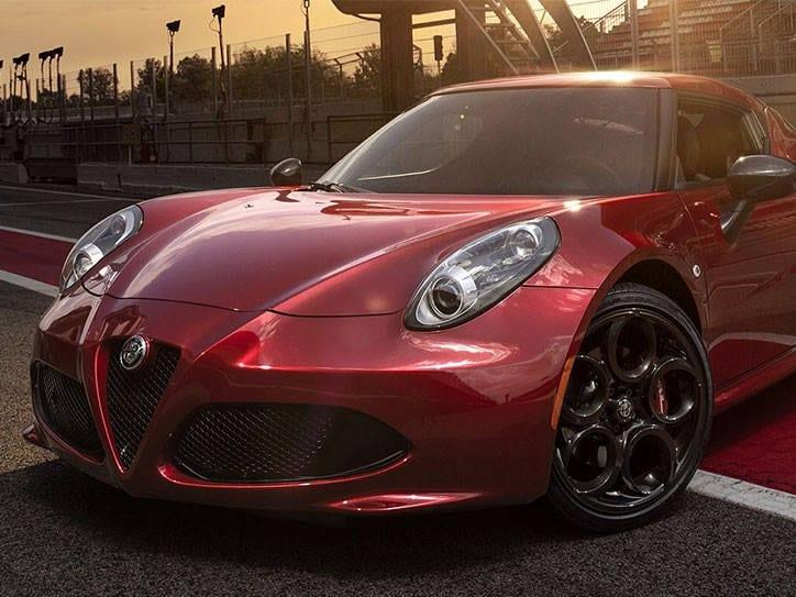 2017 Alfa Romeo 4 C