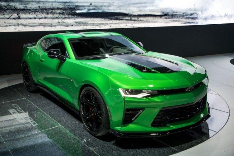 2017 Chevrolet Camaro Track Concept