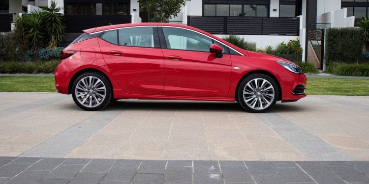 2017 Holden Astra right side