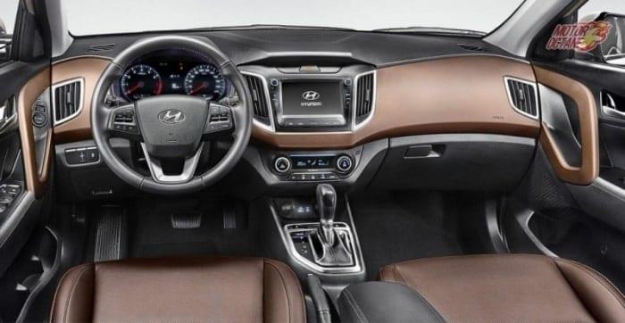 Hyundai Creta 2017 interior