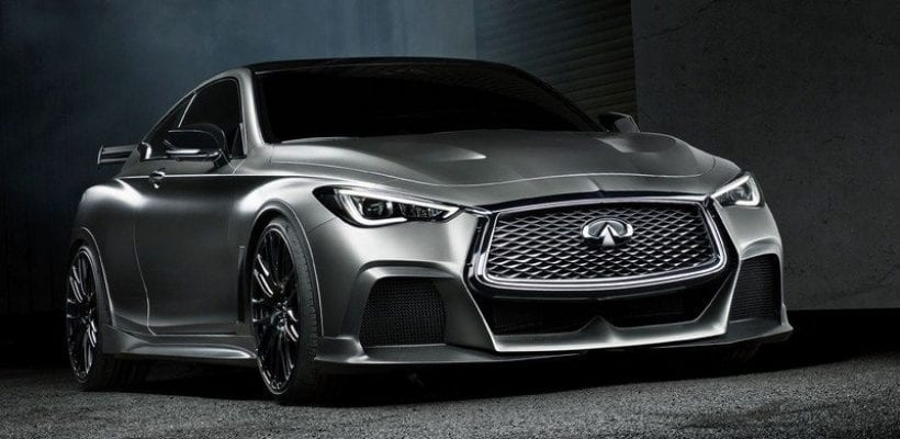 2017 infiniti q60 project black s release date price. Black Bedroom Furniture Sets. Home Design Ideas