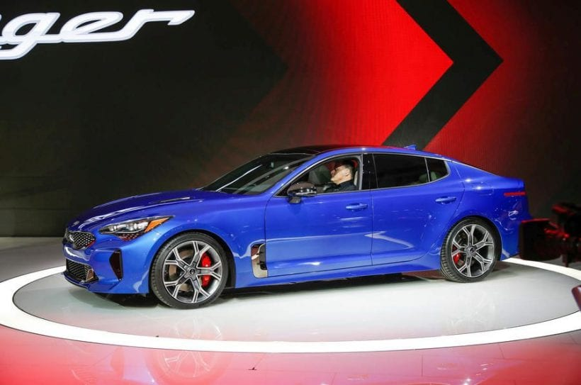 2017 kia stinger gt estimated price release date review specs. Black Bedroom Furniture Sets. Home Design Ideas