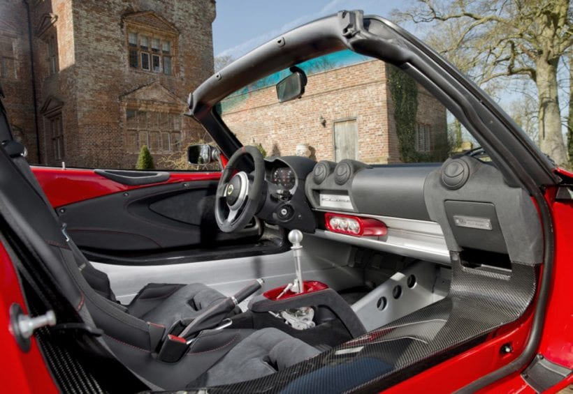 2017 Lotus Elise Sprint interior