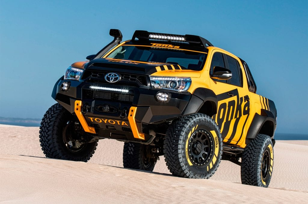 2017 Toyota Hilux Tonka Concept, Price, Specs, Interior
