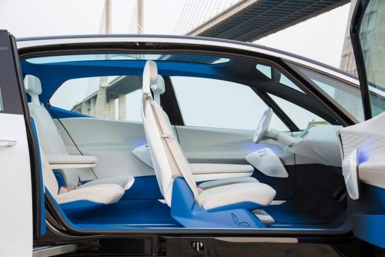 2017 VW I.D Concept interior
