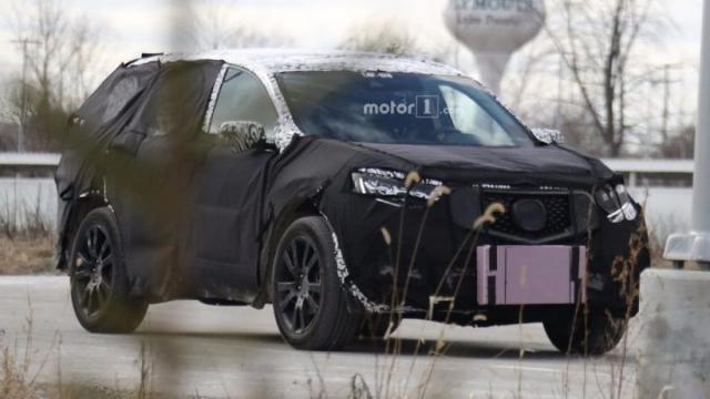 2018 Acura Rdx Release Date Spy Photos Rumors Redesign