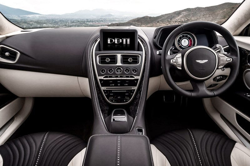 2018 Aston Martin DB11 S interior