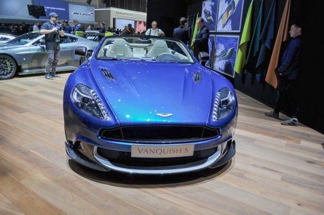 2018 Aston Martin Vanquish S Volante 1