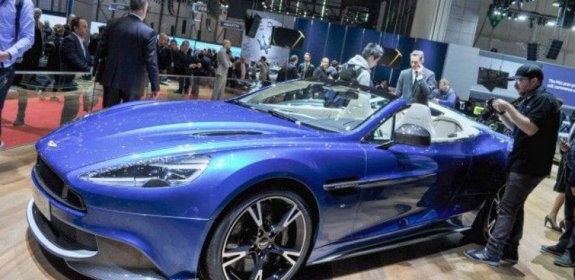 Aston Martin Vanquish S Volante Price Release Date Review - 2018 aston martin vanquish convertible