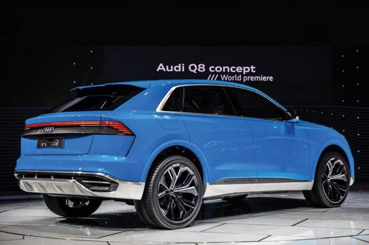 Audi A7 and Q8 coming in 2018, Q4 arriving a year later ...