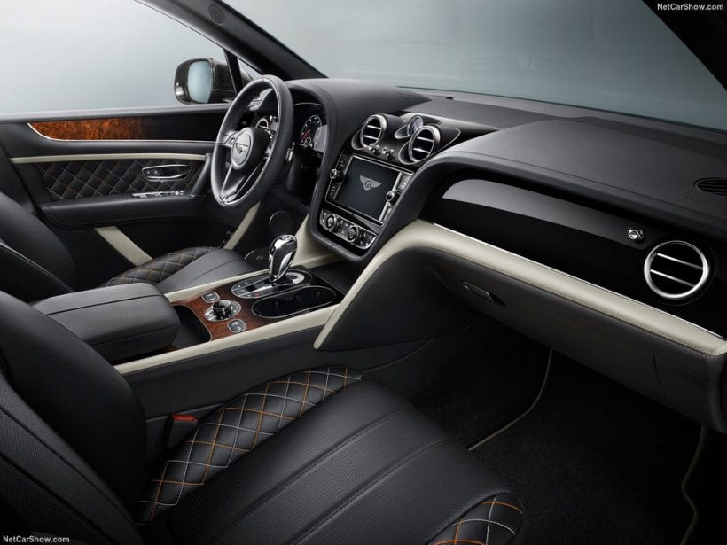 2018 Bentley Bentayga Mulliner interior