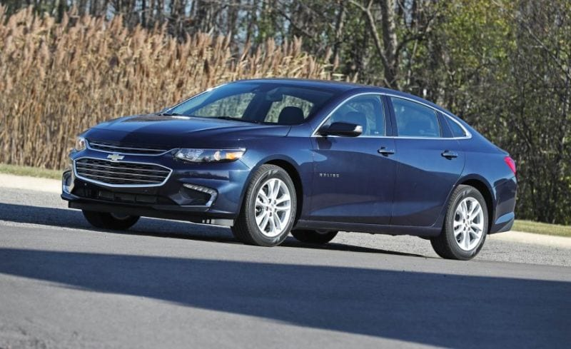 2018 Chevrolet Malibu - The Top Three Ranking Sedan