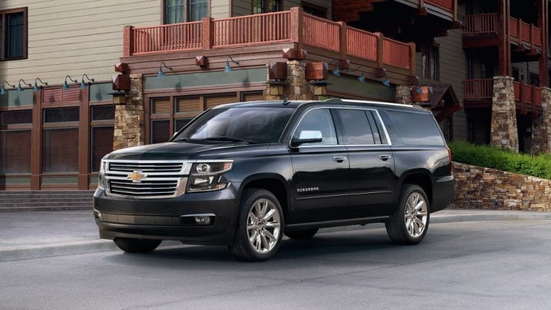 2018 chevrolet suburban history on wheels. Black Bedroom Furniture Sets. Home Design Ideas